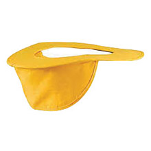 OccuNomix OCC898-098 Yellow Cotton Hard Hat Shade
