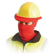 OccuNomix OCCLK810-03 Red 100% Polyester Hot Rods Classic Full Face Balaclava Style Tube Liner