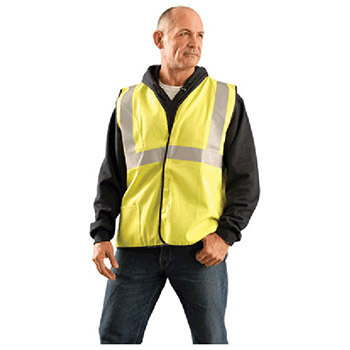 Occunomix Large Hi Viz Yellow Flame Resistant Cotton LUX-SSCGFR-YL