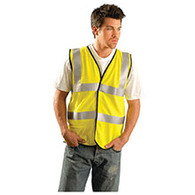 Occunomix Large Hi Viz Yellow OccuLux Flame Resistant SSFGCFR-YL