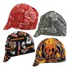 OccuNomix OCCTN8-12-ONE Assorted Color Tuff Nougies 100% Cotton Traditional Hard Billed Welder's Cap