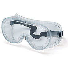 Pyramex Safety Glasses Goggles Frame Ventless Clear Anti Fog G200T