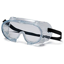 Pyramex Safety Glasses Goggles Frame Chem Splash Clear G204