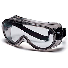 Pyramex Safety Glasses Goggles Frame Chem Splash Clear G304