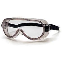 Pyramex Safety Glasses Goggles Frame Chem Splash Clear G304TN