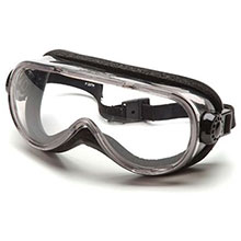 Pyramex Safety Glasses Goggles Frame Chem Splash Clear G404T