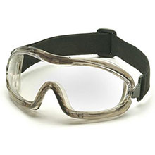 Pyramex Safety Glasses Goggles Frame Chem Splash Clear G704T