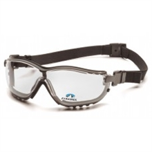 Pyramex Safety Glasses V2G Readers Frame Black Clear GB1810STR