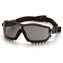 Pyramex Safety Glasses V2G Frame Black Gray Anti Fog GB1820ST
