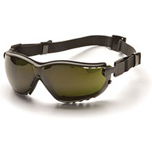 Pyramex Safety Glasses V2G Frame Black 5.0 IR Filter GB1850SFT