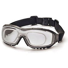 Pyramex Safety Glasses V3G Frame Black Clear Anti Fog GB8210STRX