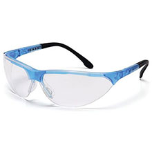 Pyramex Safety Glasses Rendezvous Frame Crystal Blue SCB2810S