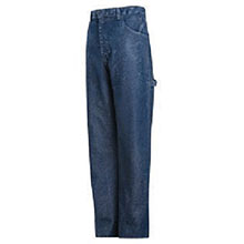 Red Kap Industries FR 30in X 30in Stone Wash Blue 14.75 Ounce Cotton Denim HRC2-PEJ8SW3030