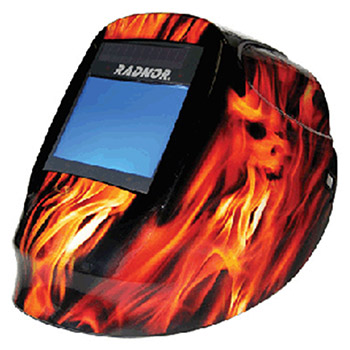 Radnor Welding Helmet DV Series Orange Black 64005221