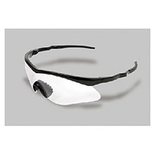 Radnor Safety Glasses Sport Series Black Frame 64051301