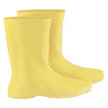 Radnor Rubber Boots 3X Yellow 12in Latex Hazmat Overboots 12in 64055873