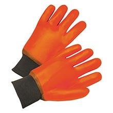Radnor Orange PVC Jersey Lined Cold Weather RAD64056100 Large