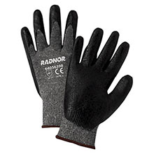 Radnor Coated Gloves Medium Black Premium Foam Nitrile Palm 64056397