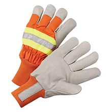Radnor Orange And Gray Pigskin And Polyester RAD64057041 X-Large