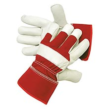 Radnor Premium Grain Goatskin Leather Palm Gloves RAD64057336 Large