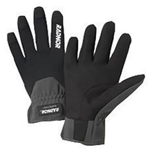 Radnor Black And Gray Full Finger Synthetic RAD64057351 Medium