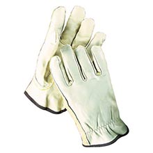 Radnor Grain Cowhide Unlined Drivers Gloves With RAD64057407 Medium