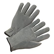 Radnor Split Cowhide Unlined Drivers Gloves With RAD64057434 Medium