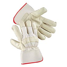 Radnor Premium Grain Cowhide Leather Palm Gloves RAD64057502 Large