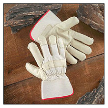 Radnor Leather Palm Gloves Small Premium Grain Cowhide 64057504