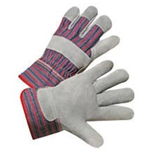 Radnor Economy Grade Split Leather Palm Gloves RAD64057513 Small