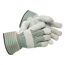 Radnor Shoulder Grade Split Leather Palm Gloves RAD64057520 Small