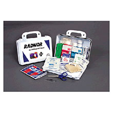 Radnor Water Resistant Plastic First Aid Kit 64058016