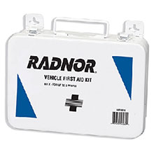 Radnor 3 Person Vehicle First Aid Kit In Metal 64058030