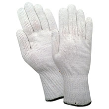 Red Steer Gloves Full weight polypropylene Cotton Chore Knit 1120