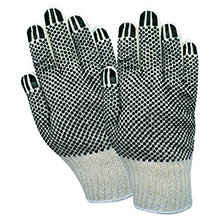 Red Steer Gloves Cotton synthetic blend Cotton Chore Knit 1139