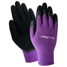 Red Steer Gloves Earth friendly Eco Fiber blue purple 1151
