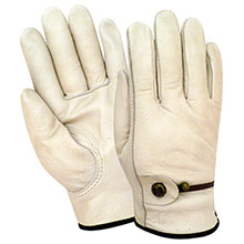 Red Steer Gloves Premium grade Unlined Driver Gloves 1500