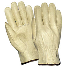 Red Steer Gloves grain cowhide Unlined Driver 1557
