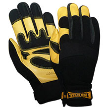Red Steer Gloves Premium golden grain goatskin palm 174