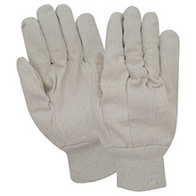 Red Steer Gloves 8 oz. cotton canvas Cotton Chore Knit 20016-L