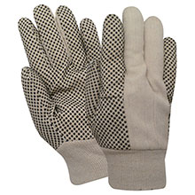 Red Steer Gloves 8 oz. cotton canvas Cotton Chore Knit 21005-L