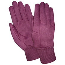 Red Steer Gloves 9 oz. jersey Womens Cotton Gloves 23200