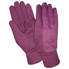 Red Steer Gloves 9 oz. jersey PVC mini dot palm Womens 23220