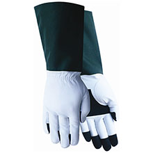 Red Steer Gloves White grain goatskin rose tender style 240