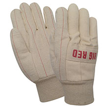 Red Steer Gloves Big Red heavy double layer 22 oz. white 27000KS-L
