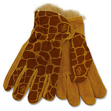 Red Steer Gloves ZooHands Ages Kids 3 6 Youth 7 12 Giraffe 291G-Youth