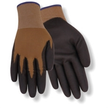 Red Steer Gloves Brown 13 gauge synthetic knit liner 309