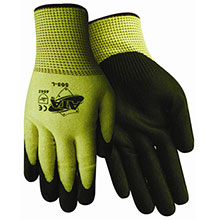 Red Steer Gloves Cut puncture resistant 13g ATA 505