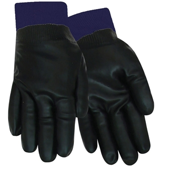 Red Steer Gloves Smooth black premium neoprene Coated 5122-L