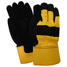 Red Steer Gloves Pile thermal lined Lined Leather Palm 53164